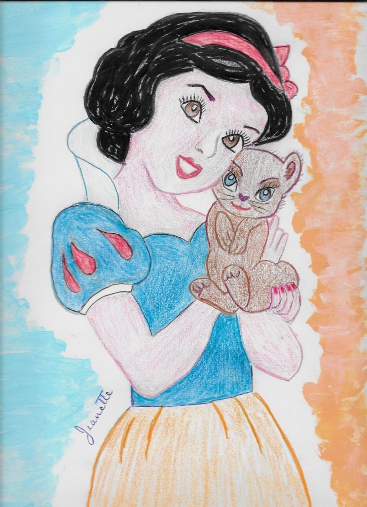 Snow White par Jeanette